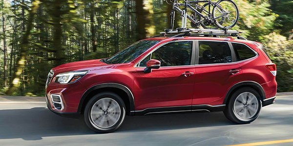 2020 Subaru Forester design