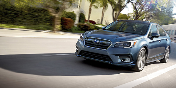 2020 Subaru Legacy technology