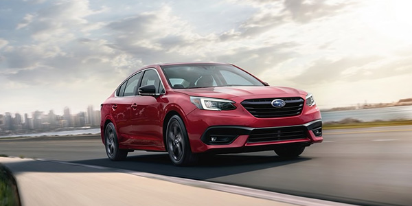 2020 Subaru Legacy performance