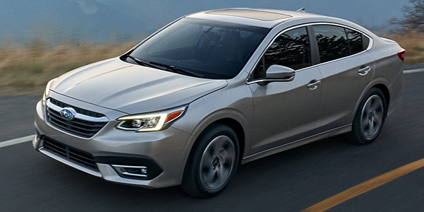 2020 Subaru Legacy design
