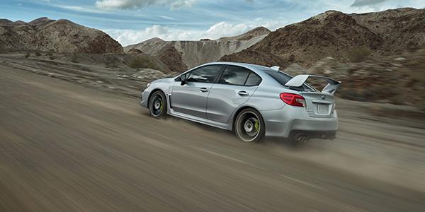 2020 Subaru WRX design