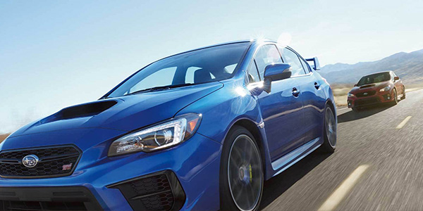 2020 Subaru WRX performance