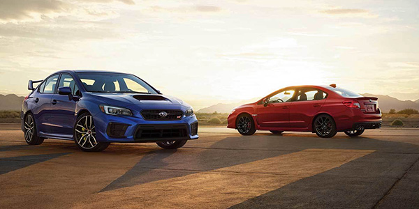 2020 Subaru WRX technology
