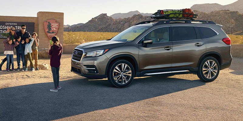 2021 Subaru Ascent design