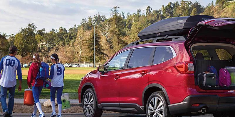 2021 Subaru Ascent technology