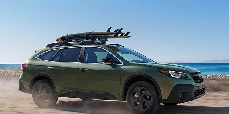 2021 Subaru Outback design