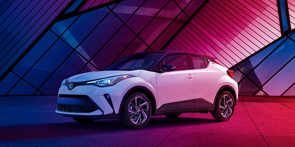 2020 Toyota C-HR technology