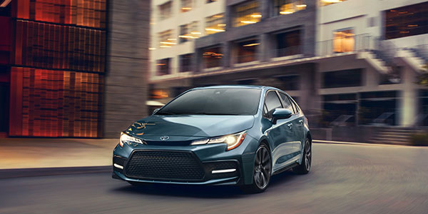 2020 Toyota Corolla technology