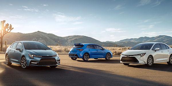 Rendimiento del Toyota Corolla 2020