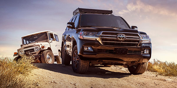 2020 Toyota Land Cruiser design
