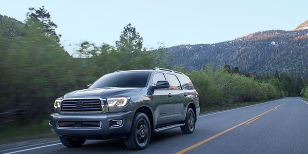 2020 Toyota Sequoia design