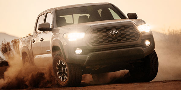 2020 Toyota Tacoma technology