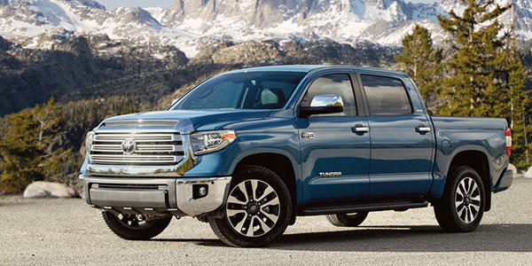 2020 Toyota Tundra design