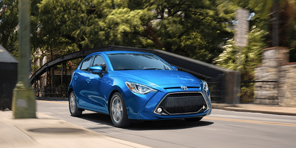 2020 Toyota Yaris technology
