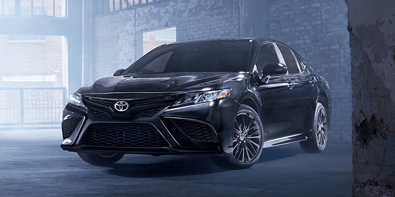 2021 Toyota Camry design