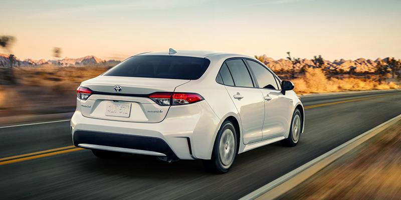 2021 Toyota Corolla design