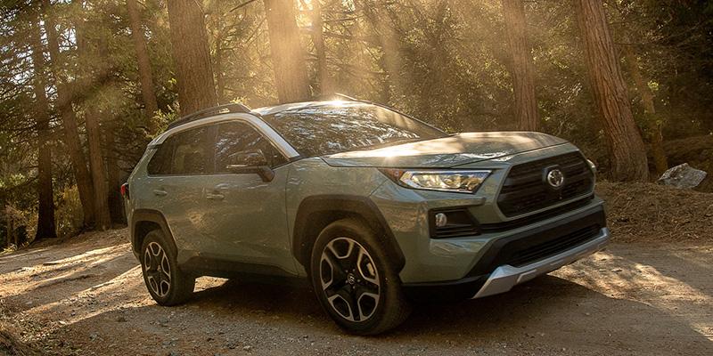 2021 Toyota RAV4 design