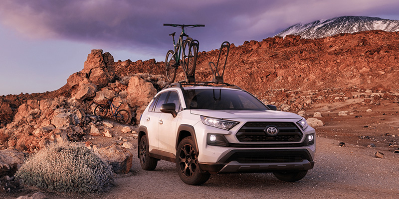 2021 Toyota RAV4 technology