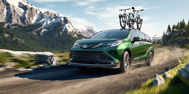 2021 Toyota Sienna technology