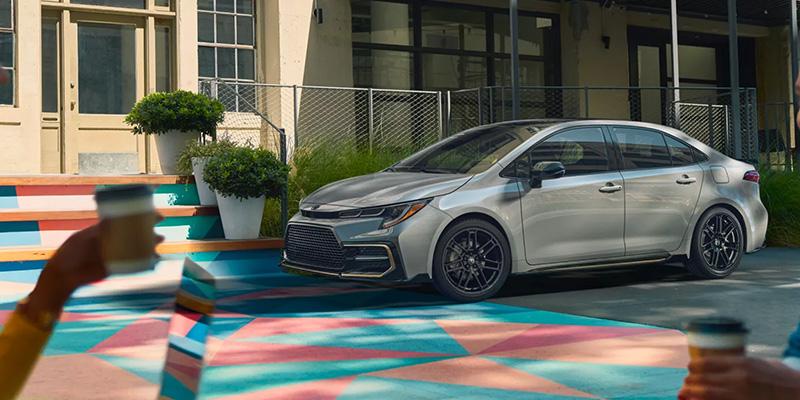 2022 Toyota Corolla design