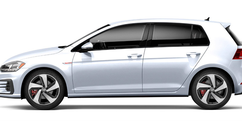 2020 Volkswagen Golf GTI design