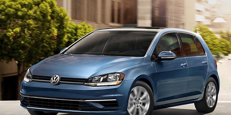 2020 Volkswagen Golf technology
