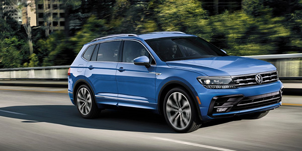 2020 Volkswagen Tiguan technology