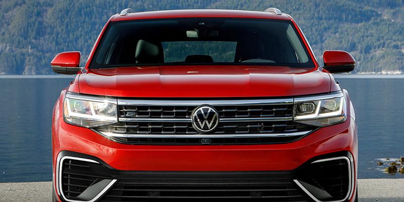 2021 Volkswagen Atlas Cross Sport design