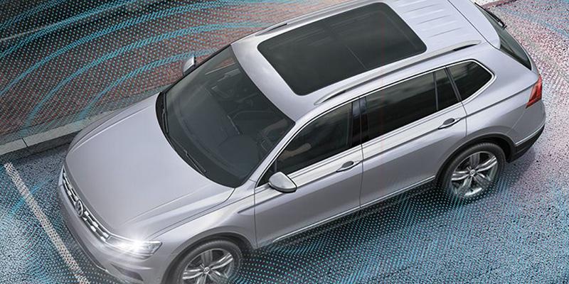 2021 Volkswagen Tiguan technology