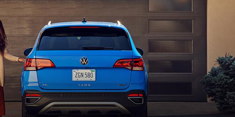 2022 Volkswagen Taos design
